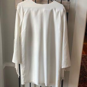 English Factory White Shift Dress